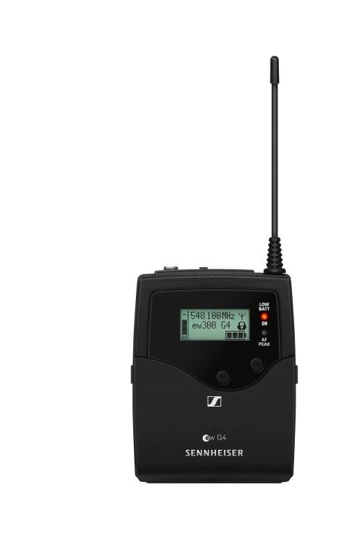 SENNHEISER EW300 G4-BASE COMBO draadloos microfoonsysteem