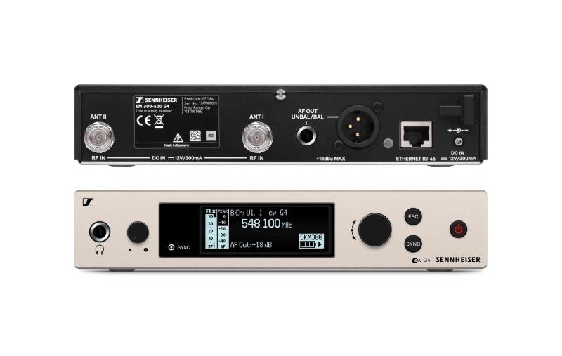 SENNHEISER EW300 G4-BASE-SK-RC draadloos microfoonsysteem