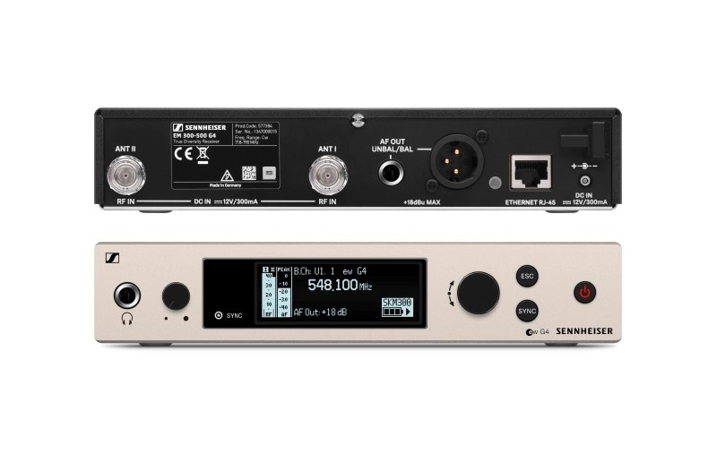 SENNHEISER EW500 G4-945 draadloos microfoonsysteem