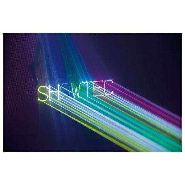 SHOWTEC Galactic TXT 300 mW RGB Tekst laser