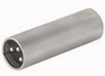 DAP FLA25 koppelstekker XLR M. 3p. / XLR M. 3p.