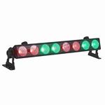 INVOLIGHT COBBAR815 8x 15W RGB LED's