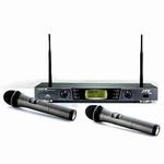 JTS Dubbele draadloze microfoonset: 2 handheld microfoons