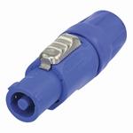 Neutrik Powercon Inputplug blauw