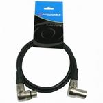 ACCUCABLE haakse XLR - XLR kabel 3 meter