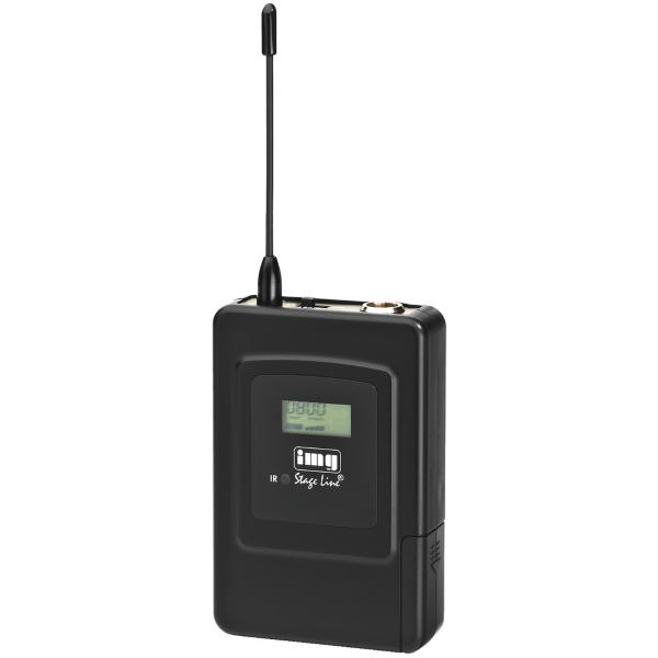 IMG STAGELINE TXS-606HSE Add on Belt-pack zender