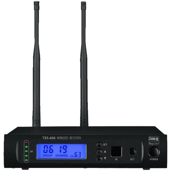 IMG STAGELINE TXS-606 1- kanaals Ontvanger