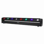EQUINOX Swing Batten 8x 10W quad-colour CREE LED multi beam