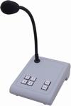 APART Audio MICPAT-4 PAging microfoon zwanenhals 4 zones