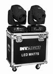 INVOLIGHT LED MH77S 75 Watt LED Movinghead set + case