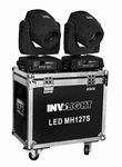 INVOLIGHT LED MH127B 127 Watt LED Movinghead set + case