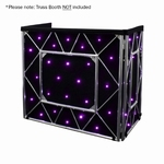 EQUINOX Truss Booth Quad LED sterrendoek 48x RGBW LEDs