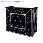 EQUINOX Truss Booth LED sterrendoek 48x 5mm witte LEDs