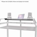 Equinox Laptop shelf voor DJ booth systeem MKII