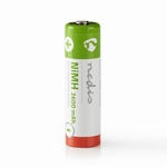 NEDIS Oplaadbare NiMH batterij AA - 1,2V - 2600mAh - 4 stuks