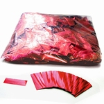 MAGIC FX Confetti Metallic 55x17mm - Rood (zak 1 kg.)