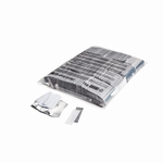 MAgic FX Confetti Metallic 55x17m - Wit/Zilver (zak 1 kg.)