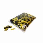 MAGIC FX Confetti Metallic 55x17mm - Zwart/Goud (zak 1 kg.)