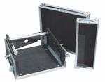 ROAD READY 10u Slant mixer rack / 3u verticaal rack