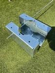 SMITSOUND Paalklem montage luidsprekers lichtmast 80-270mm