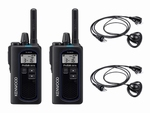 KENWOOD TK-3601D Compacte Digitale Portofoon set (2x)