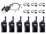 KENWOOD TK-3601D Compacte Digitale Portofoon set (6x)