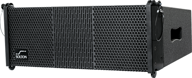 SOLTON CL 6 Line Array cabinet 2x6.5/1x1 inch 350W RMS