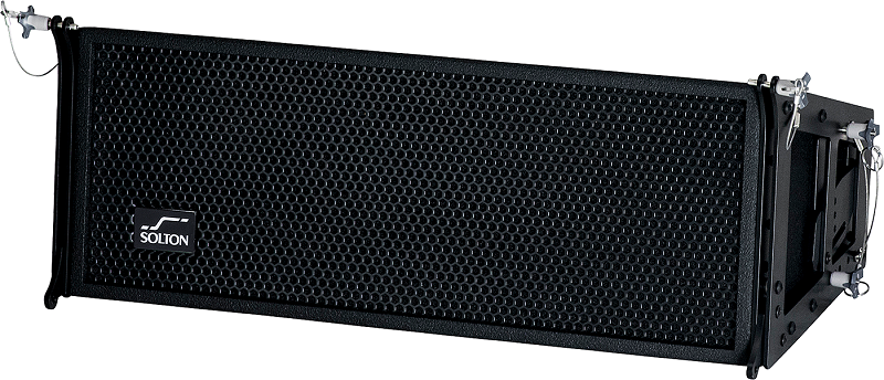SOLTON RB82 Line Array cabinet 2x8 inch + Ribbon 500W RMS