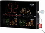 DATEQ SPL-D3 Geluidsdrukmeter, A, F, C, data opslag 12 mnd