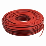 Luidsprekerkabel Rood-Zwart 2x 1,0 mm2 100m