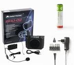 OMNITRONIC BHD-02, Headset, 6x Oplaadbare batterij, Adapter