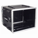 DAP D7104 8HE 19 inch ABS Rack Case Double Door