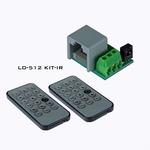 BRITEQ LD-512KIT-IR Infraroodset voor DMX Controllers