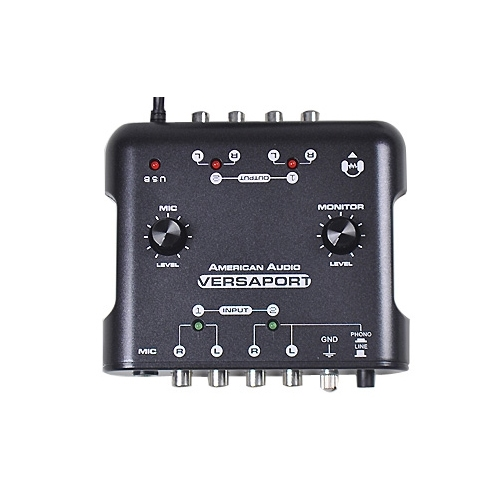 Audio interfaces & DI Box